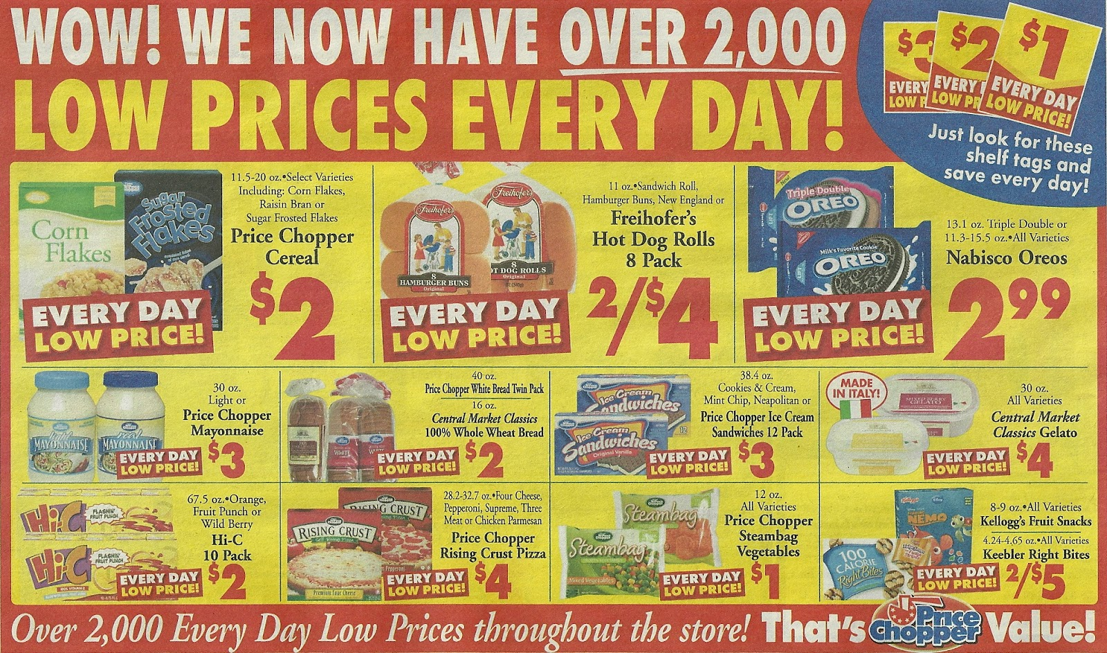 VTCouponer Extreme Couponing in Vermont Price Chopper Ad Scan