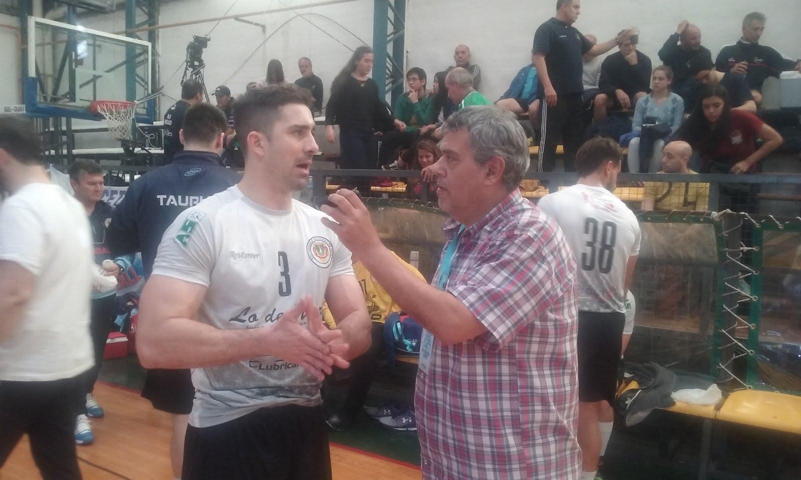 Rubén Di Liddo con el Gladiador FEDERICO PIZARRO