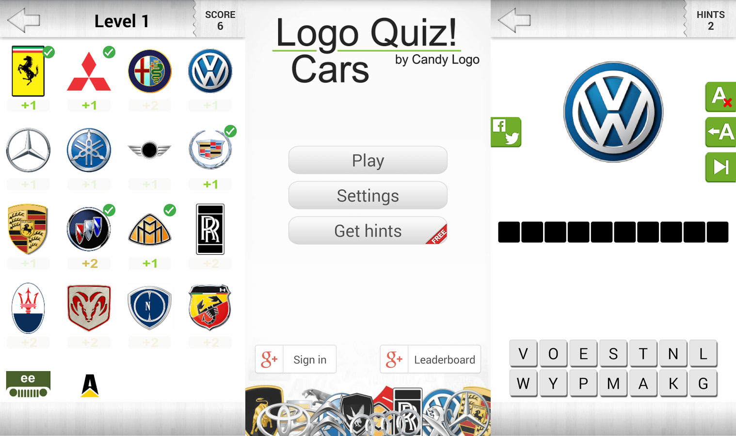 Logo Quiz Cars Answers By Candy Logo Doors Geek - Car sign with namesclick a car logo quiz