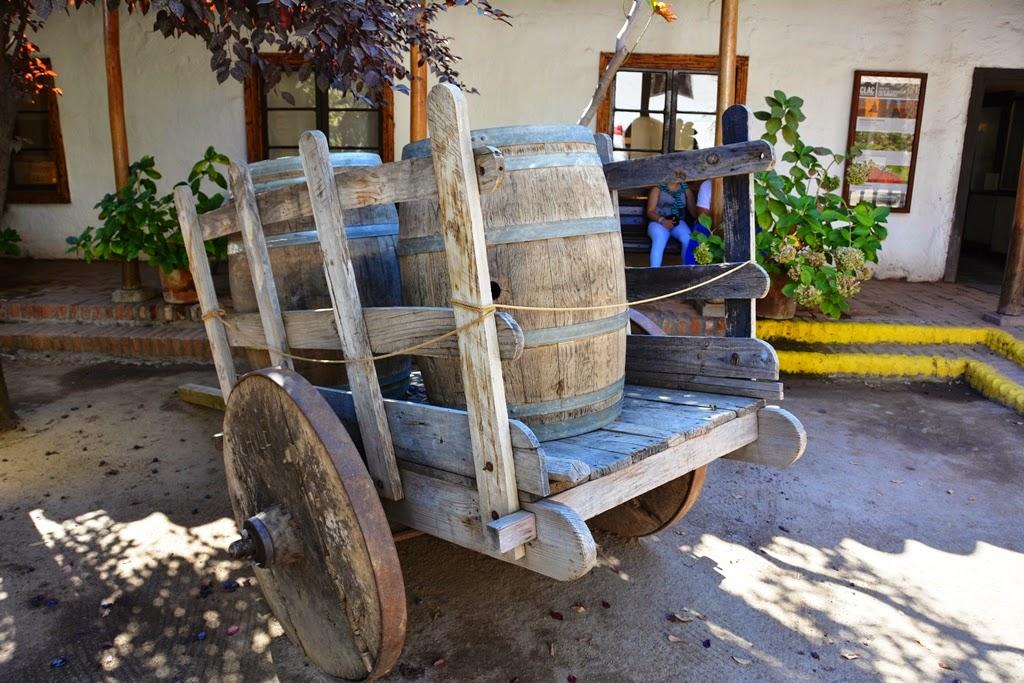 Centre Artisanal de Los Dominicos Santiago wine barel