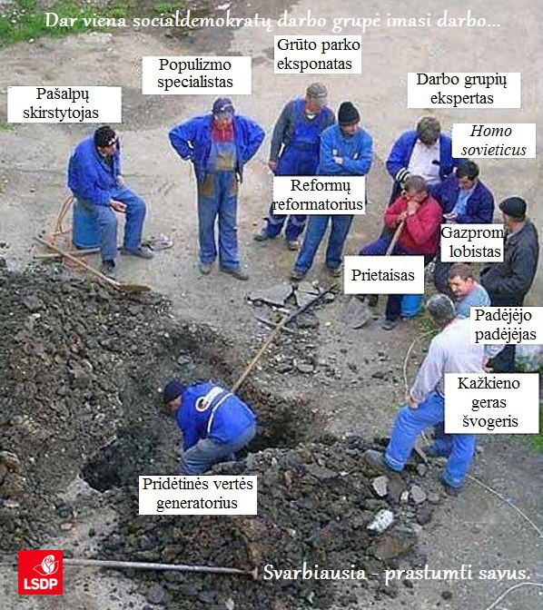 LSDP darbo grupės