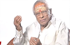 It is Pleasurable Pain working with Poet Kannadhasan said Music Director M.S.Viswanathan