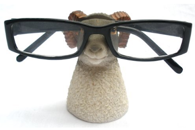 Aries the ram eyeglass holder stand