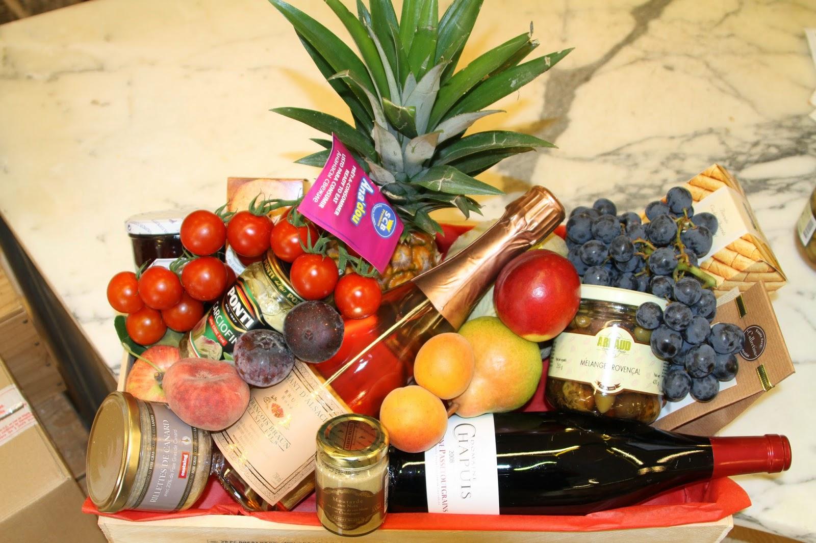 Offrir une corbeille de fruits au frais march thann - Corbeille de fruits a domicile ...