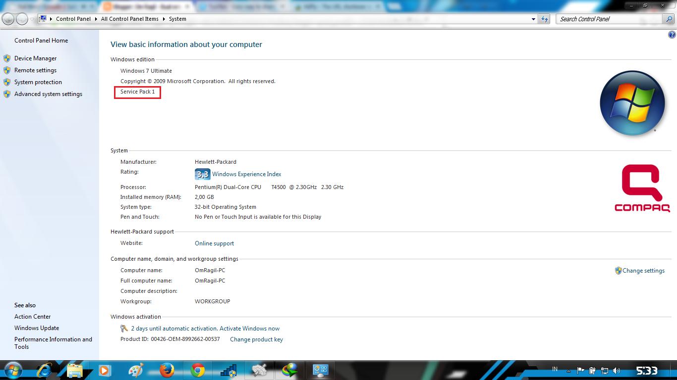 update windows 7 ultimate offline