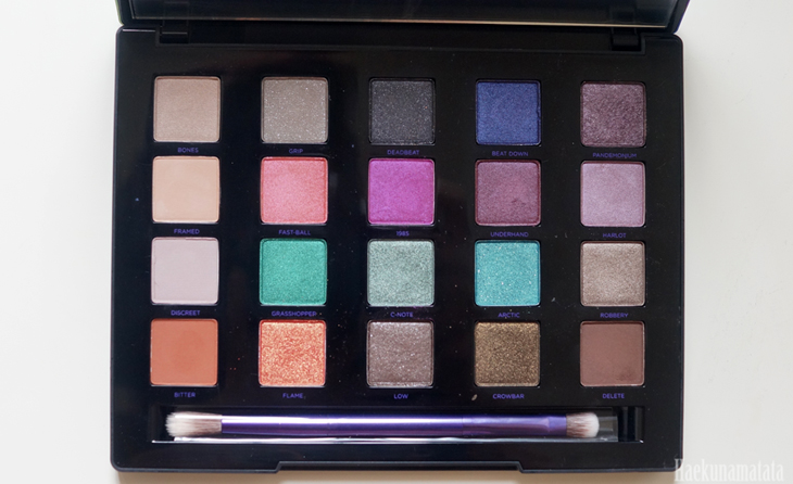 Urban Decay Vice 4 Palette Review and Swatches5
