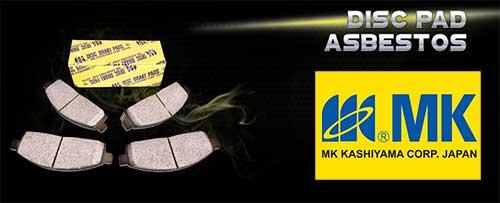 MK Kashiyama Disc Pad Asbestos
