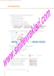 6.Sinif  Turkce Doku Yayinlari Ogrenci Calisma Kitabi Sayfa 64