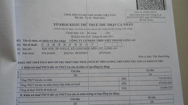 Hướng dẫn cách tính thuế TNCN năm 2016 mới nhất