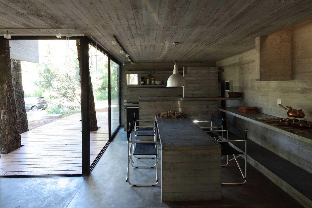 Concrete Home Interiors : Concrete design or breakfast