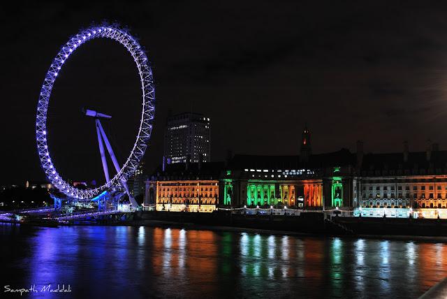 1 عين لندن من أجمل المعالم جذبا في لندن ، تخيل أن تري مدينتك كلها بنظرة واحدة