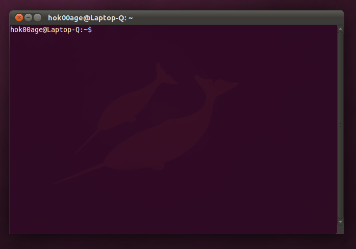 Shell prompt di Gnome Terminal