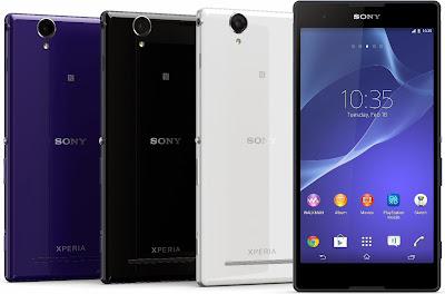 Harga dan Spesifikasi Sony Xperia T2 Ultra Terbaru
