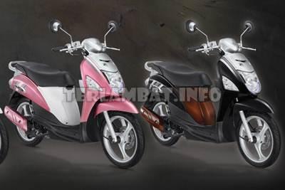Suzuki Lets Pink dan Hitam
