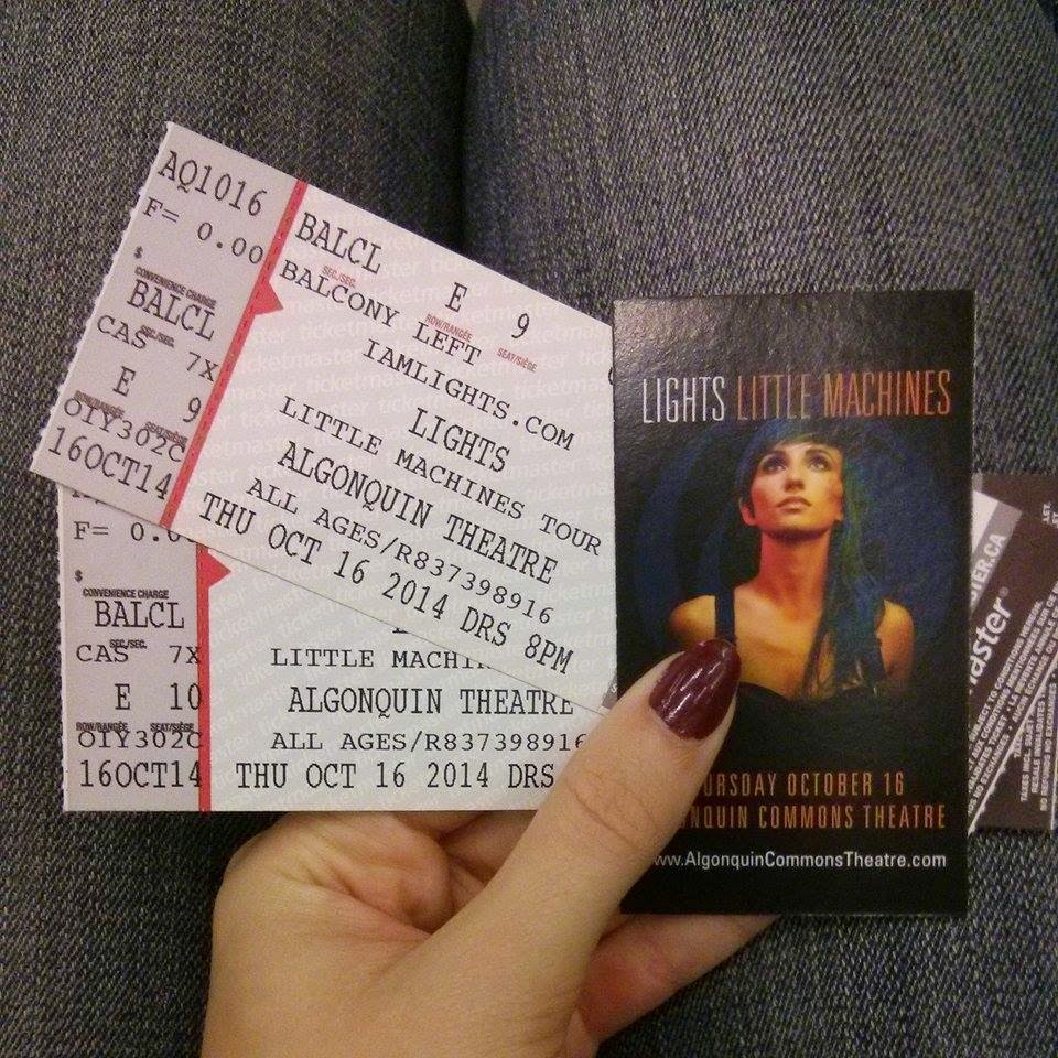 Lights Concert Tickets