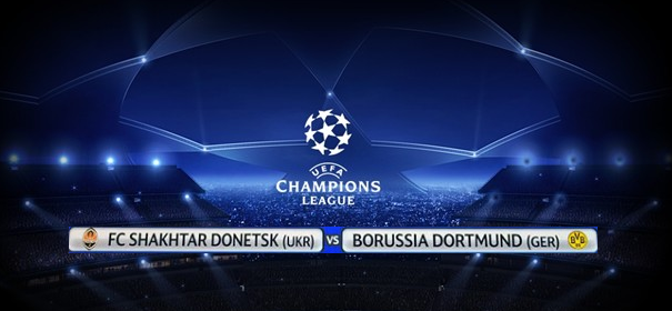 Champions League 2013 Huitième de finale Regarder Match En Direct sur Aljazeera sport Resume et score Shakhtar Donetsk vs Borussia Dortmund Le 13/02/2013