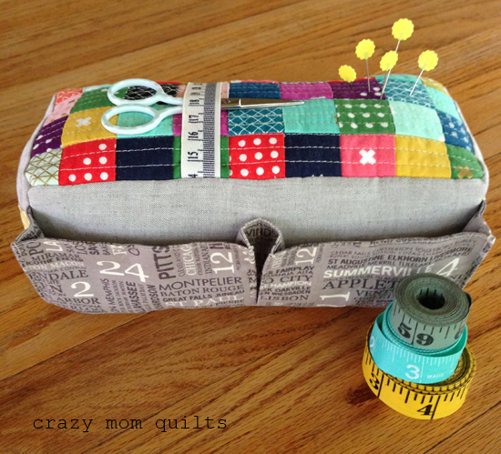 crazy mom quilts: the carry-all pin cushion : quilted pincushion patterns - Adamdwight.com