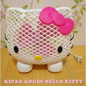Kipas Angin Hello Kitty Kepala RS 2
