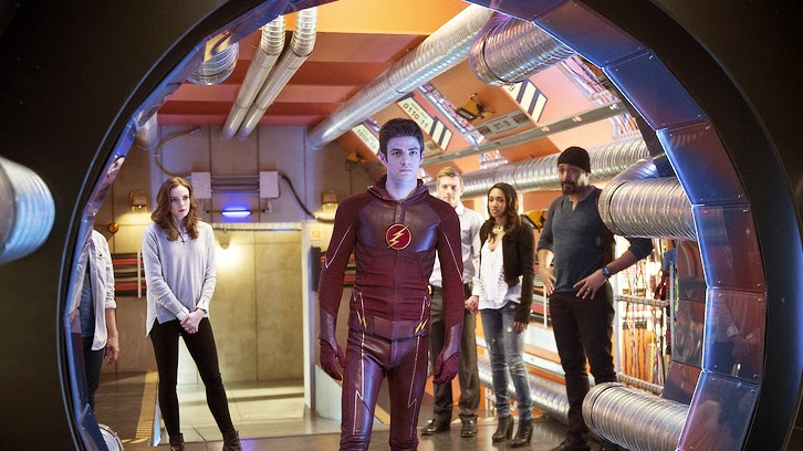 POLL : Favorite Scene From The Flash - Fast Enough?