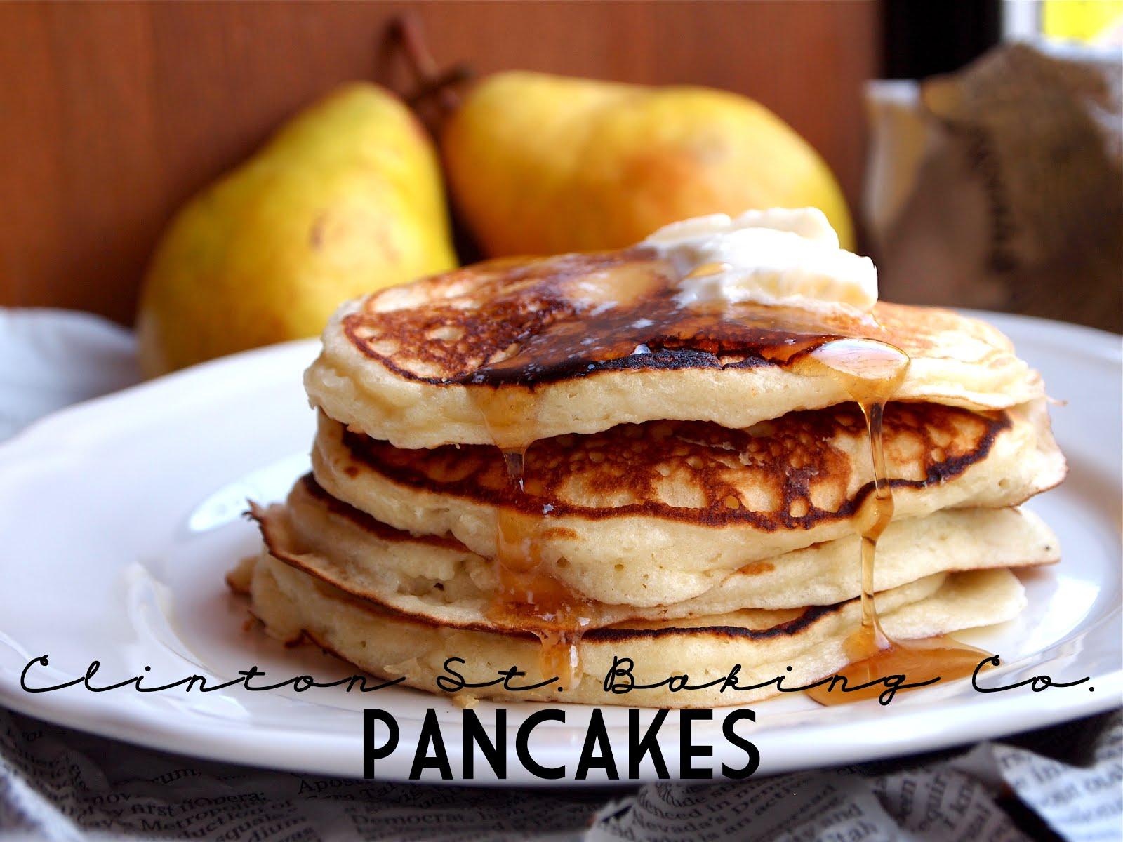 P B and J Eats: Clinton St. Baking Co. Pancakes