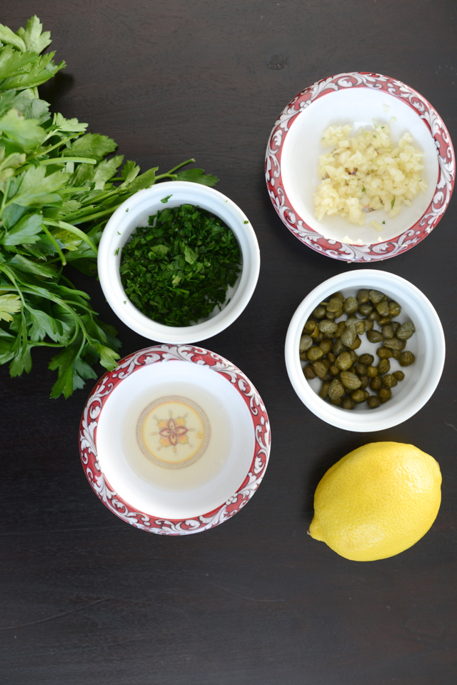 roasted brussels sprouts sauce ingredients via M Loves M @marmar