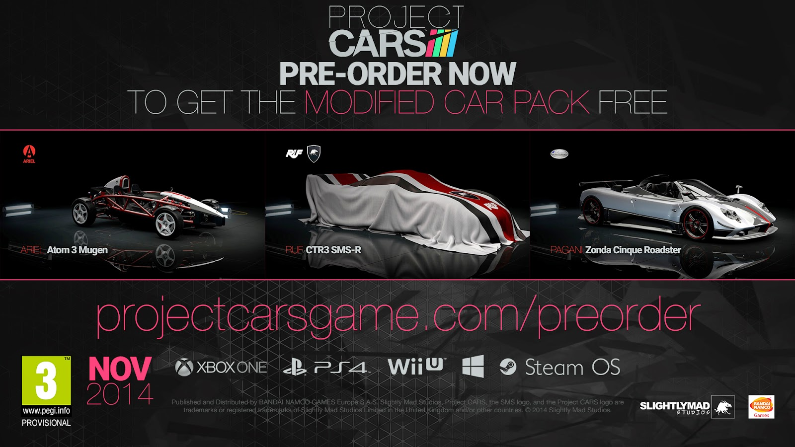 Pre-Order And Limited Edition Details Revealed For Project Cars - weknowgamers