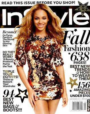 Beyonce en couv' du magazine InStyle