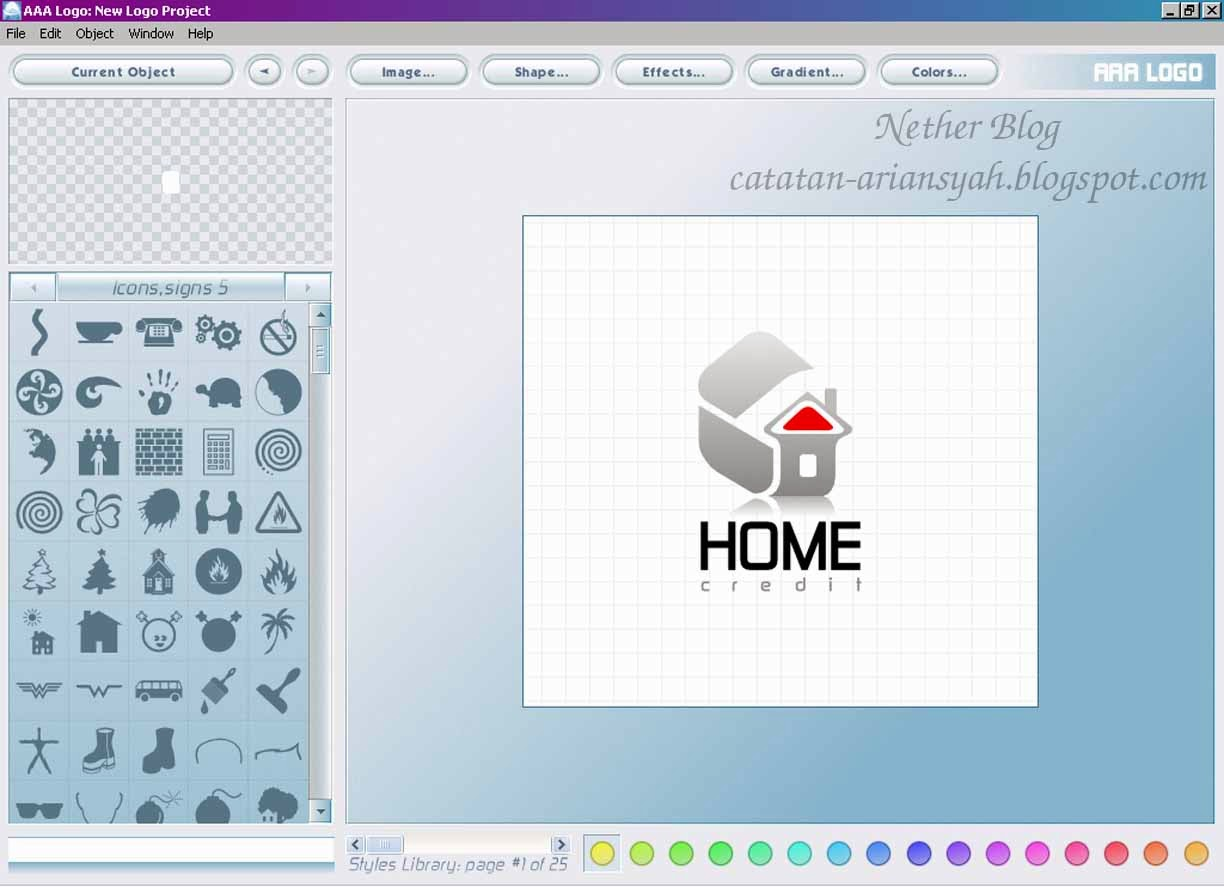 software pembuat logo | AAA-Logo Maker 3.20