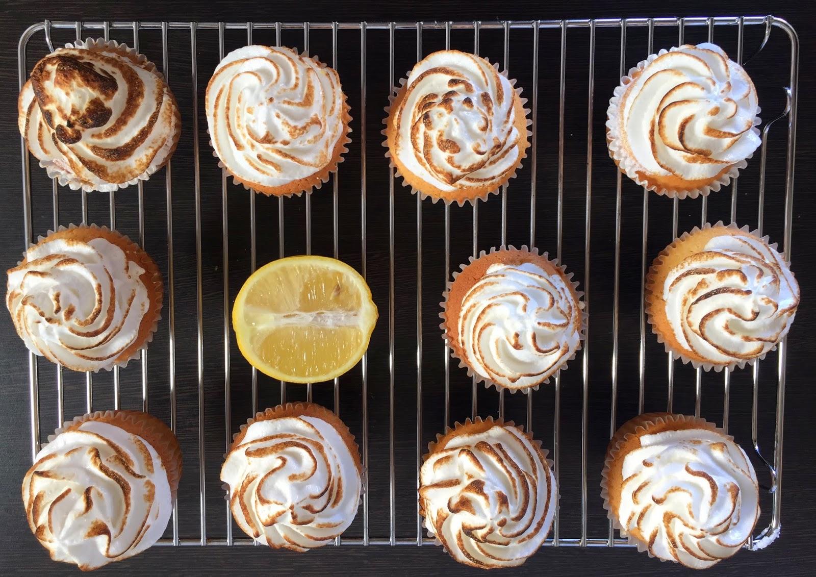 Cassie Cakes Lemon Meringue Cupcakes