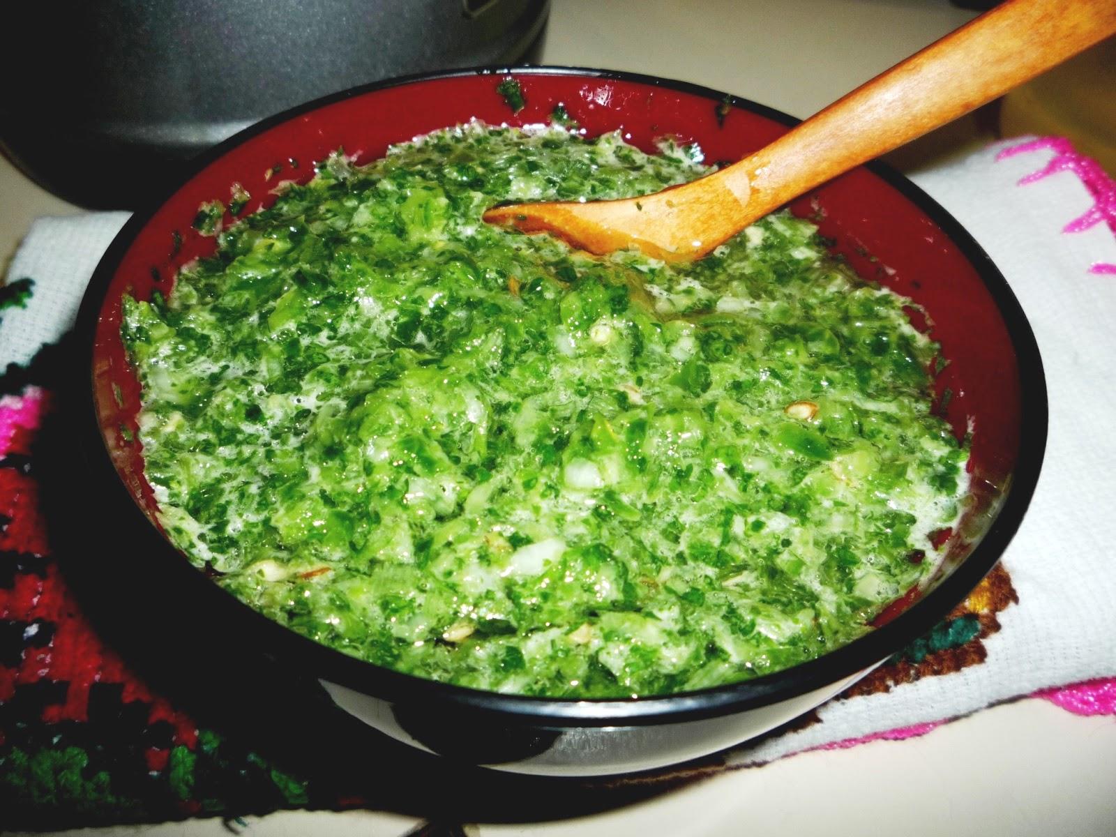 preparacion de salsas