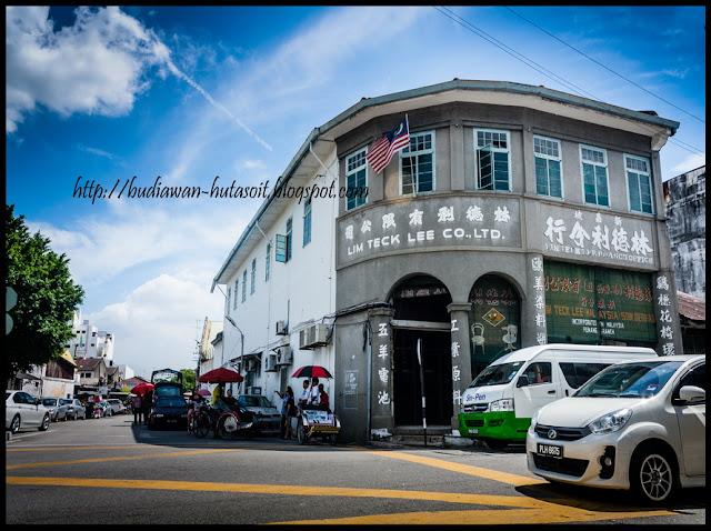 Gedung Tua di George Town Penang