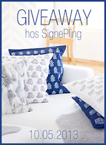 Give away hos signe pling