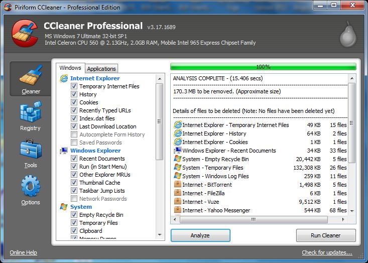 CCleaner Professional v4.16.0.4763 Portable+key