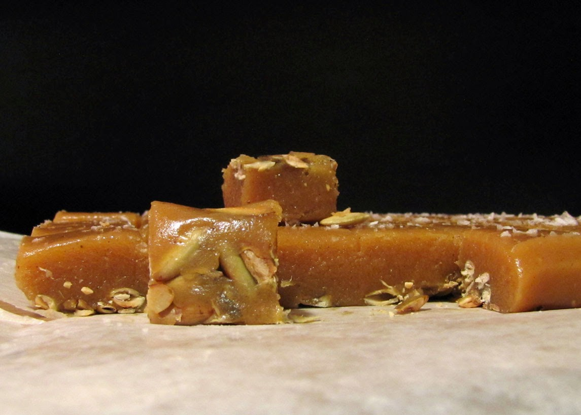 Smells Like Food in Here: Salted Pumpkin Caramels, Take 3
