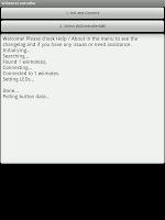 Wiimote controller唯一の画面