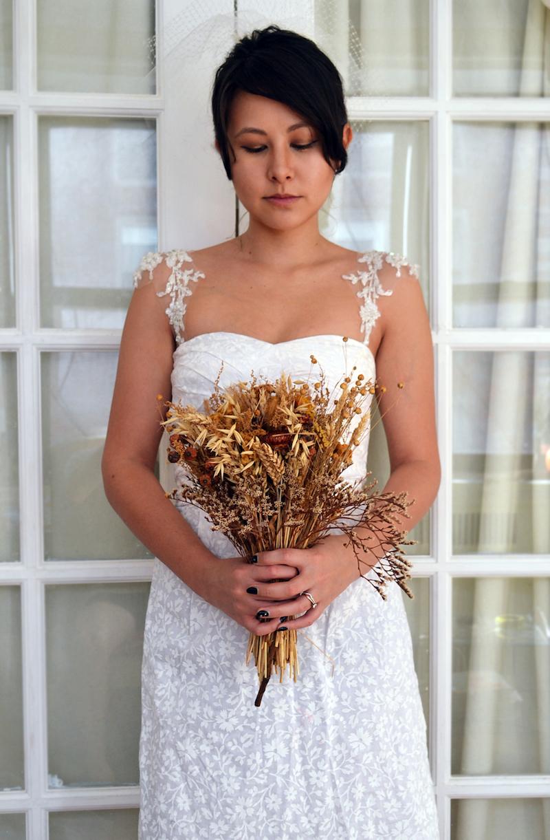 Shine trim wedding diy lace cap sleeves for Adding cap sleeves to a wedding dress