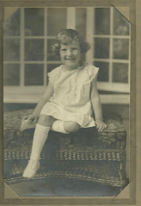 Marjorie as a young girl