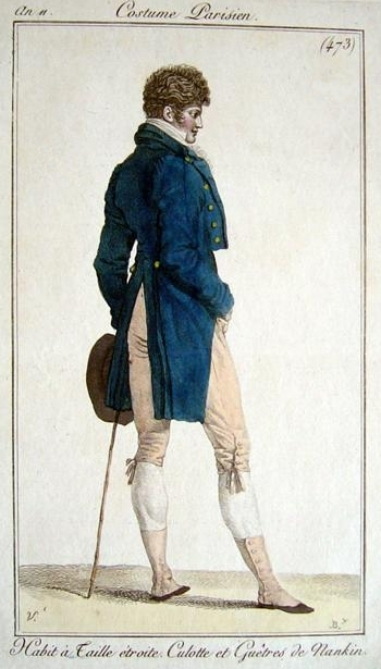 Costume Parisien 1803
