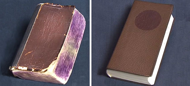 Artesano Japonés magistralmente restaura libros antiguos