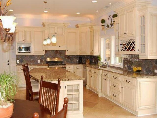 White Cabinet Kitchen Designs