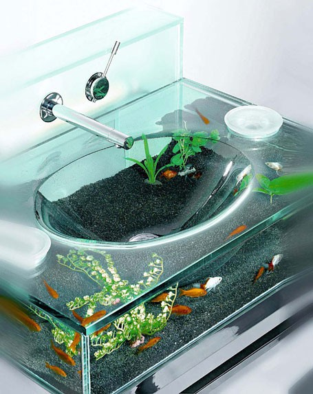 Cool Looking Fish Tanks How cool would these be?