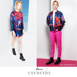 Queen Mathilde style Haus Coudeyre Dress