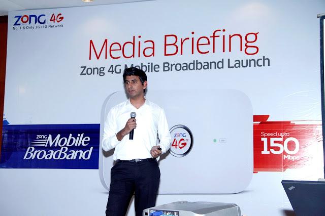 ZONG Launches 4G MBB Wifi in Karachi