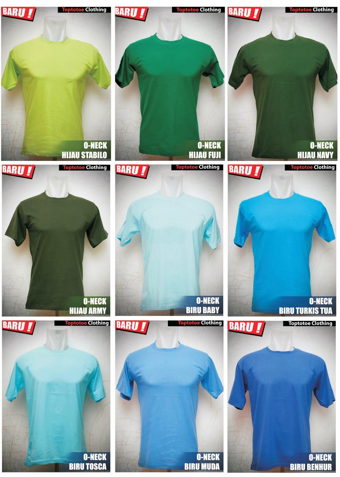 Kaos Polos Oneck Full Cotton Combed 20s 30s Toptotoe Clothing Size M Jenis Bahan Katun Ini Cocok Untuk Dipakai Sehari Hari Lembut Nyaman Dan Menyerap Keringat Bisa Beli Satuan Tanpa Minimum
