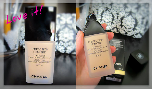 CHANEL PERFECTION LUMIÈRE FOUNDATION, DANIELA PIRES