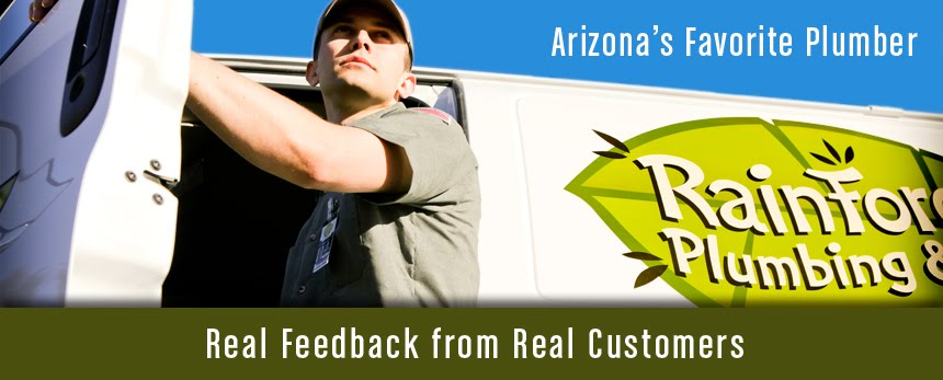Testimonials at Rainforest Plumbing & Air