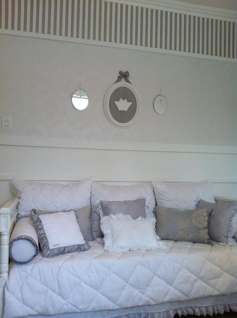 Papel De Parede Para Quarto Florido ~   quarto papel de parede perfeito jogo da cama de baba demais de lindo