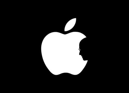 Homenagem a Steve Jobs - Logo Apple