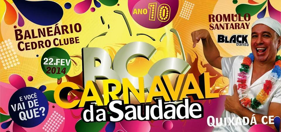 carnaval da saudades