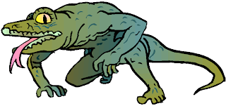 Lizard Monster Clipart